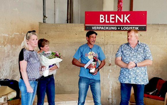 Blenk-Mitarbeiter feiern Jubiläum